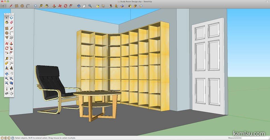 Coffee table sketchup images for Table design sketchup