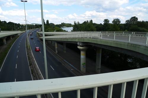 Brücke am Main bei Fechenheim