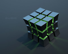 puzzle, rubik's cube, symmetry, mechanical puzzle,