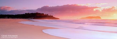 pink seascape art beach yellow sunrise sand warm chad peach australia canon5d canonef1740mmf4lusm solomon fingalhead fingalheads singhray chadsolomon