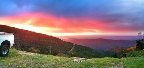 sunrise nc northcarolina mount mitchell