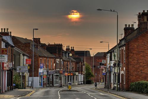 england sol sunrise dawn unitedkingdom loughborough soloppgang ashbyroad
