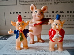 THE 3 LITTLE PIGS !
