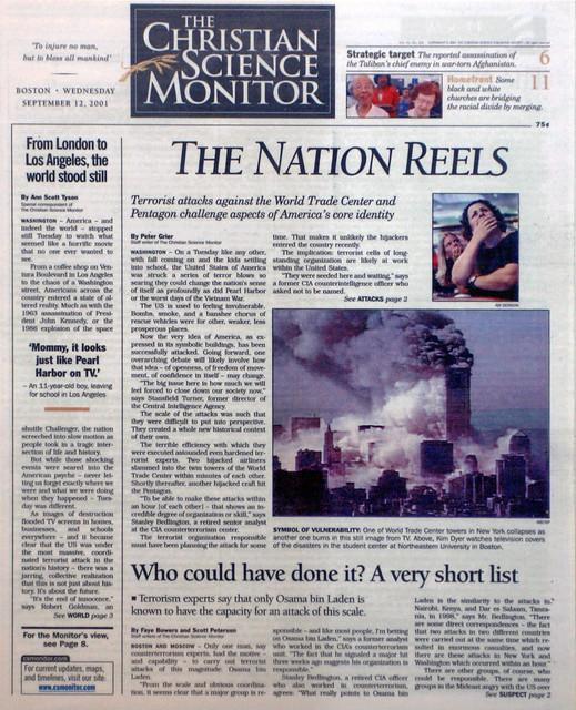 The Christian Science Monitor, Boston, Massachusetts