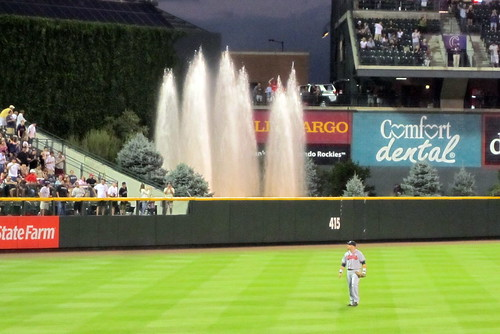 Denver - LoDo: Coors Field - Home Run