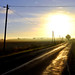 The light at the end of the road by aremac