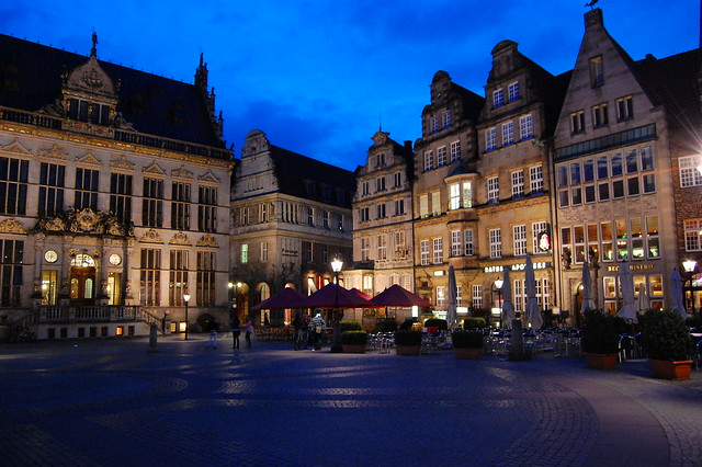 Bremen at Night