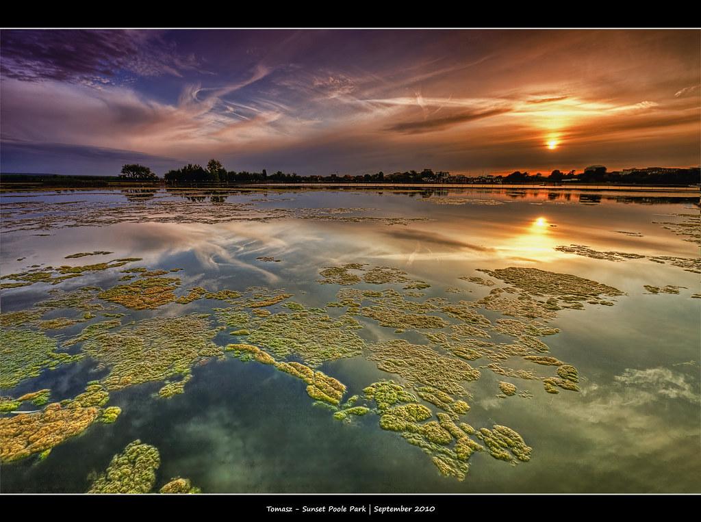264/365 - HDR - Sunset.Poole.Park.@.1250x825.Frame