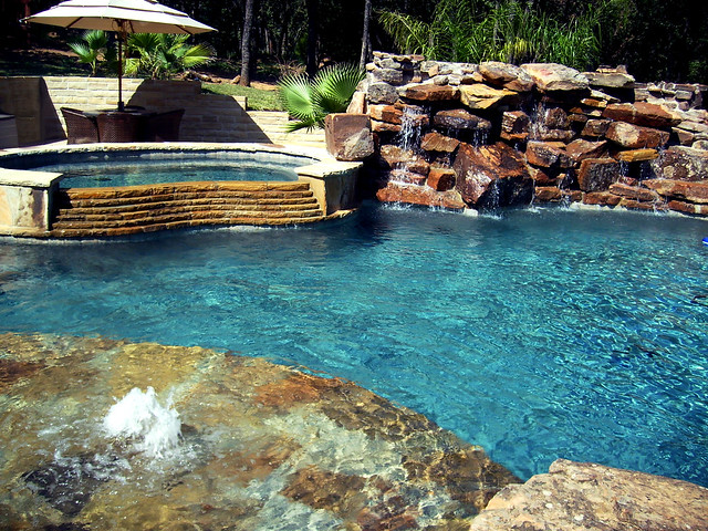 Swimming Pool Water Features Frisco Texas Flickr Photo Sharing