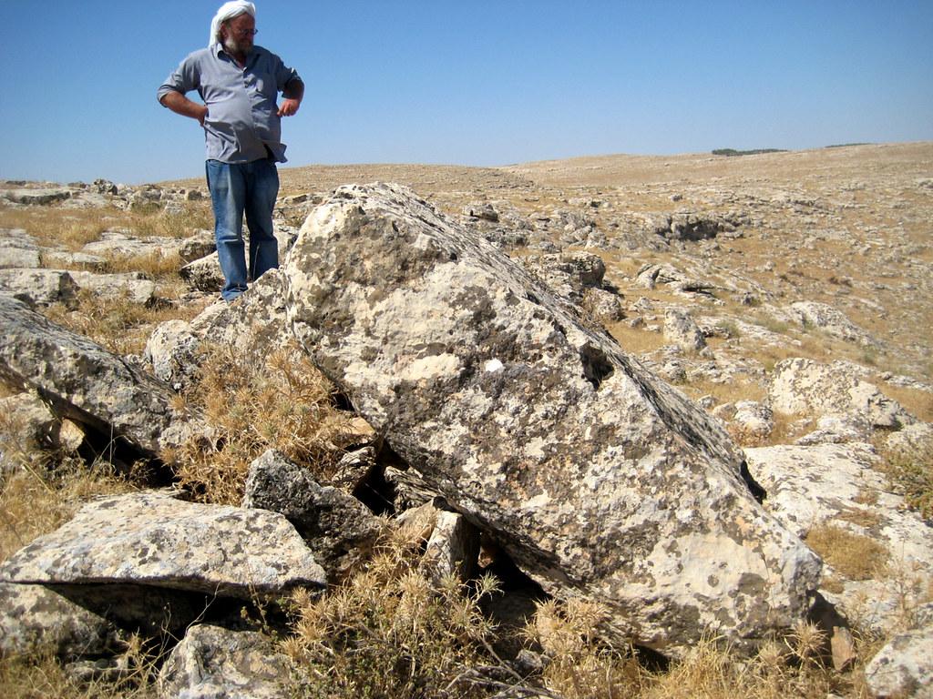 Göbekli Tepe - Klaus at a quarry