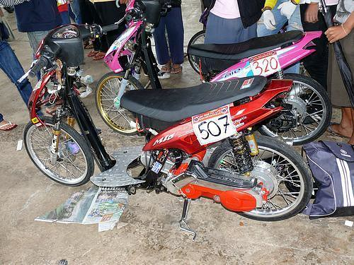 Modifikasi Mio Drag 02  Flickr  Photo Sharing!
