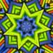 bugle beads kaleidoscope by Jon Downs