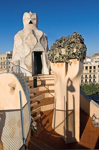 Casa Milá, La Pedrera, Barcelona, Spain