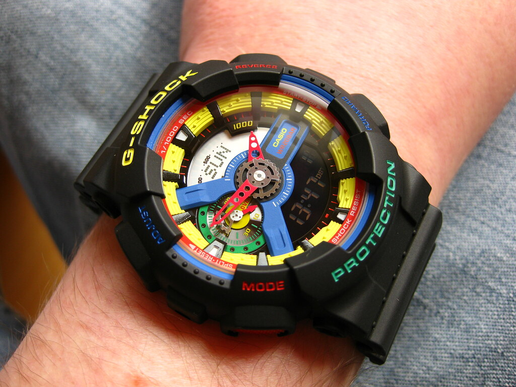 71d4edc8644f GA-110DR Limited Edition. Casio GA-110DR G-Shock. The Dee & Ricky ...