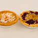 Coconut cream pie and double cherry pie, Hill Country Chicken
