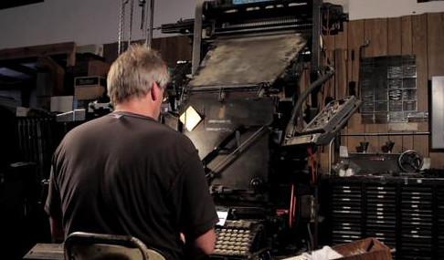 Linotype: The Film (trailer) - Download Photo - Tomato to