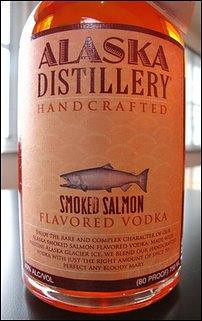 Smoked Salmon Vodka