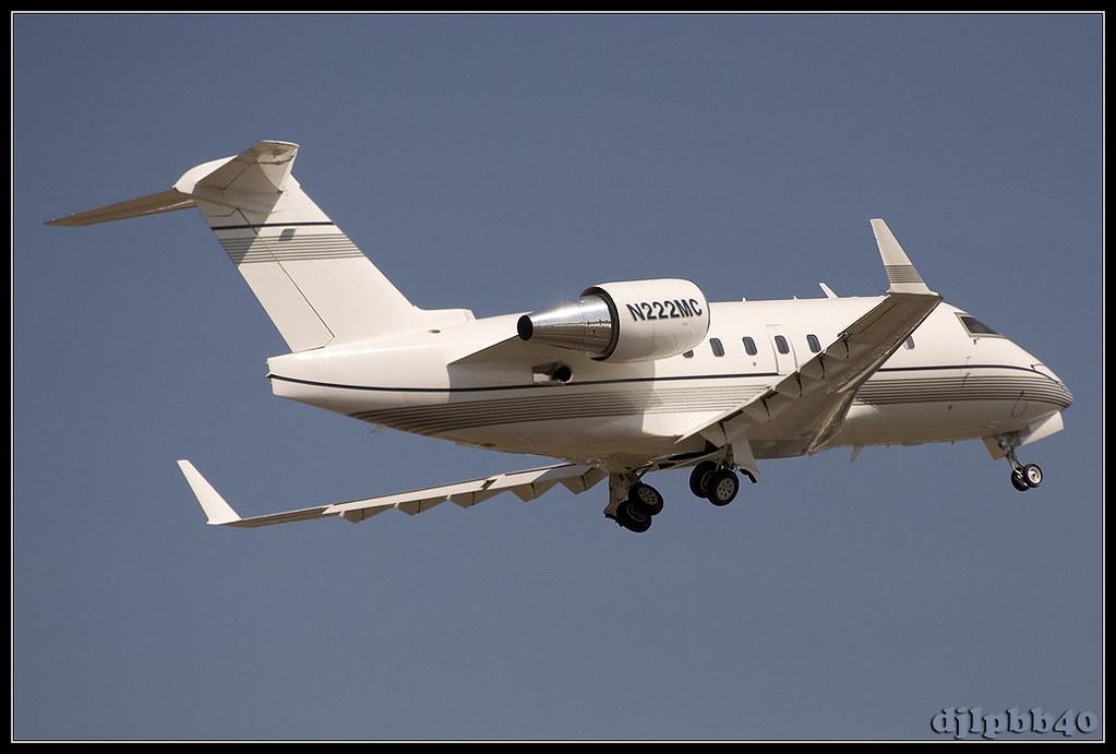 N222MC - CL60 - Aerolíneas Internacionales