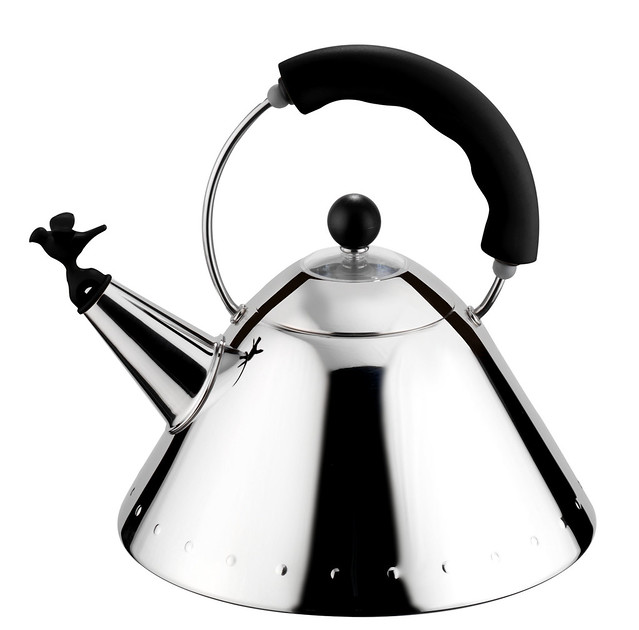 Alessi Kettle Black
