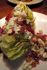 Outback Steakhouse: wedge salad