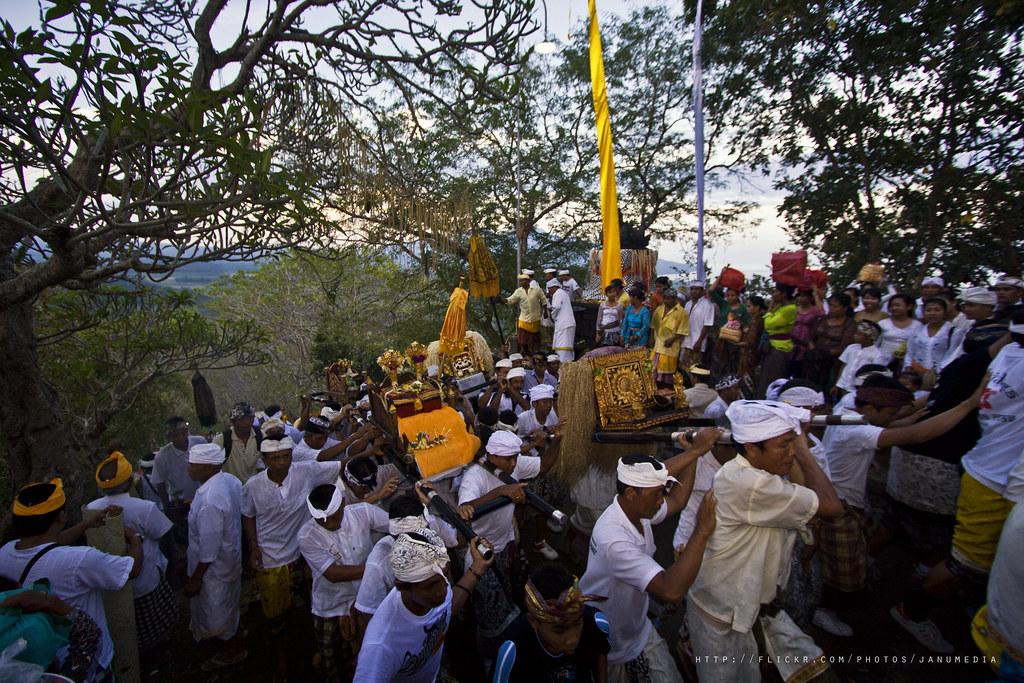 Bali image : Gumang Hill Temple Ceremony at Bug-bug, Karangasem