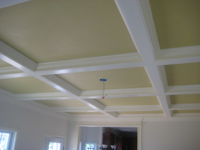 Cost of a coffered ceiling flickr photo sharing for Average cost of coffered ceiling