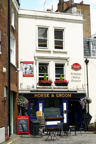 Horse and Groom, Belgravia, SW1