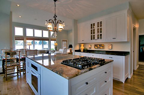 Kitchens With All Wood Appliance Covers