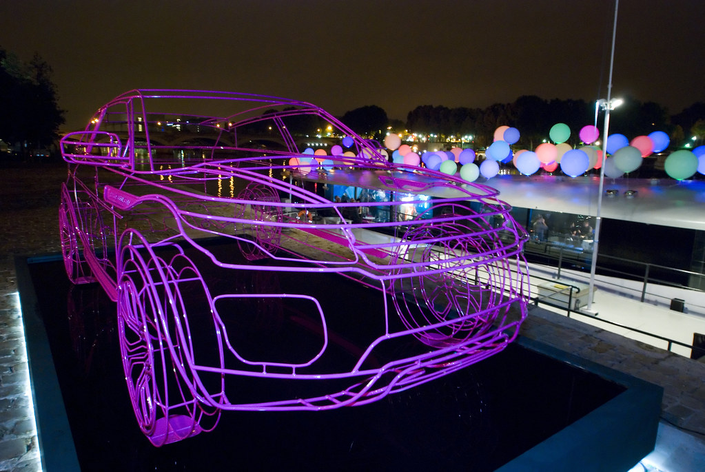 Range Rover Evoque Wireframe Launch Party