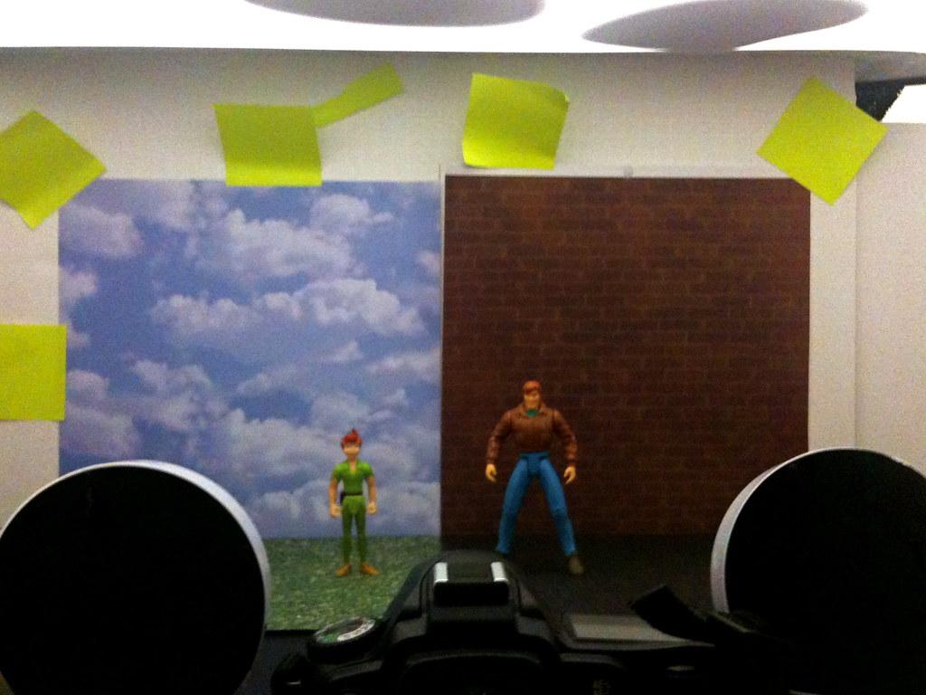 Peter Pan vs. Peter Parker Setup
