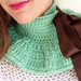 Mint Green Neckwarmer