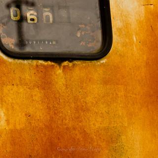 Rusty gazoil pump