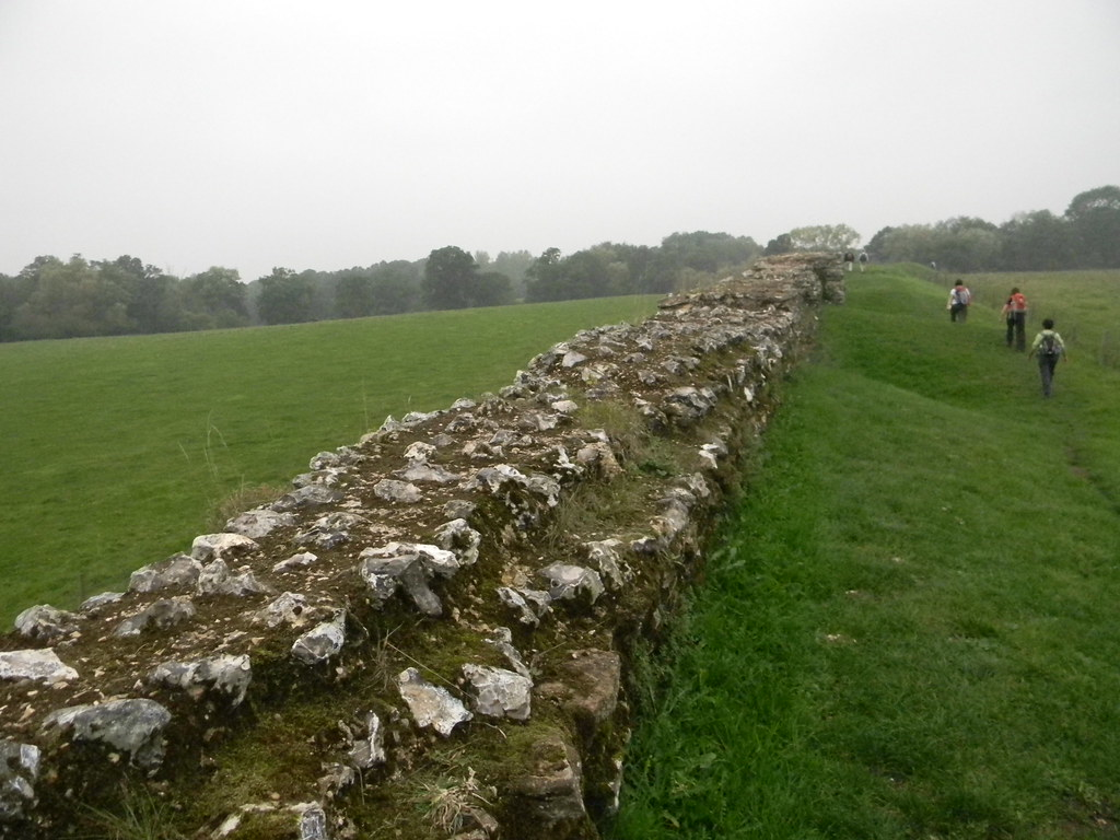 Calleva town wall Mortimer to Aldermaston