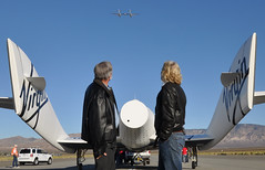 GF01 Glide flight test flight. Photo by Mike Mills