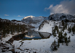 Fresh Snowfall at Ellery Lake