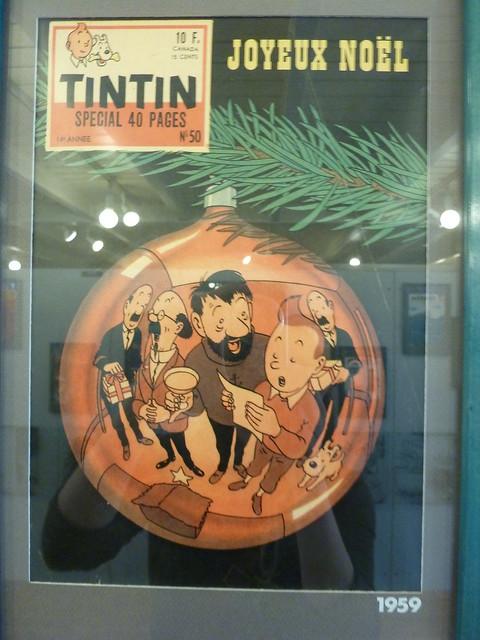 feliz navidad y feliz 2015 :) - revista tintin 1959 - joyeux noël