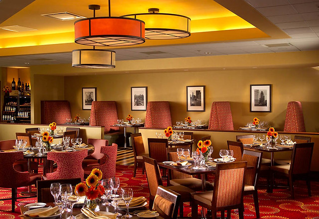 Windows Cafe Oak Brook Hills Marriott Resort Dupage County Il Flickr Photo Sharing