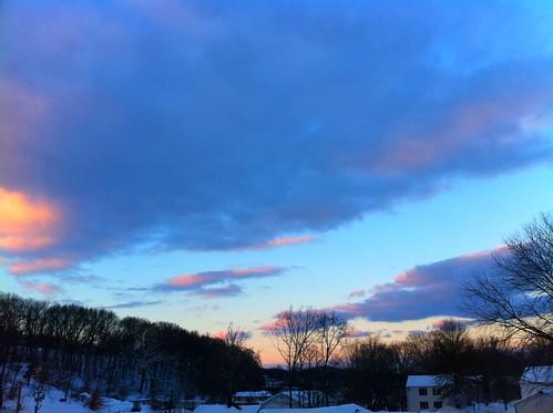 cameraphone sunset sky beautiful clouds january atmosphere emailphoto iphone 2011 appleiphone 20110127