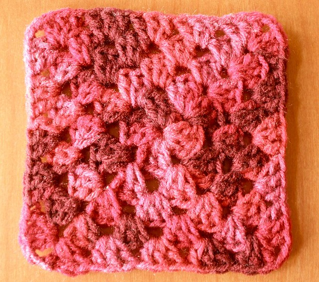 Pictures of my free Granny Square pattern tutorial, which can be found here: