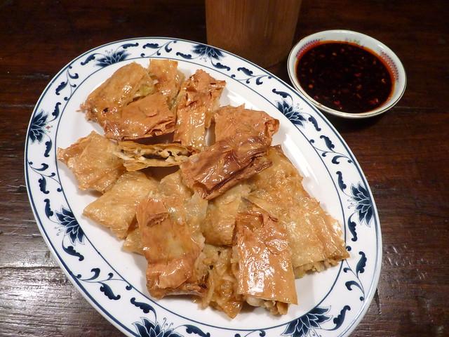 Fried stuffed tofu skins   Flickr - Photo Sharing!