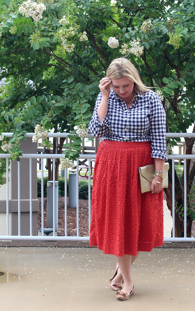 red midi skirt and navy gingham 2_zpsxohtvfln