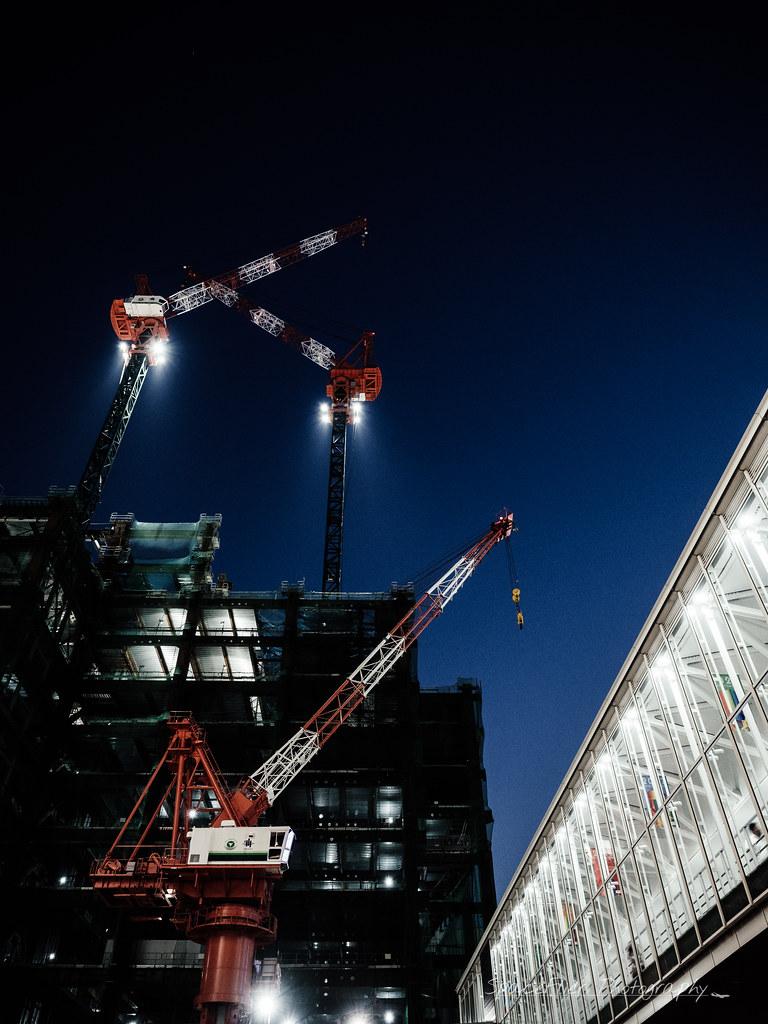Shibuya rebuilding