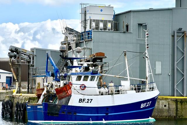 BF27 Antaries Fraserburgh Fishing Harbour Scotland 2017
