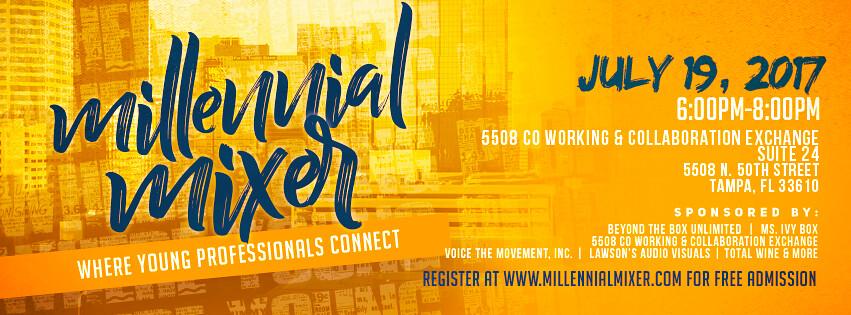 Millennial Mixer - July 19, 2017