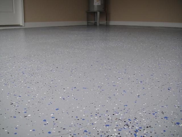 Gray epoxy garage floor flickr photo sharing