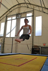 gymnastics(0.0), rings(0.0), trampolining--equipment and supplies(1.0), sports(1.0), trampoline(1.0), physical fitness(1.0), trampolining(1.0),