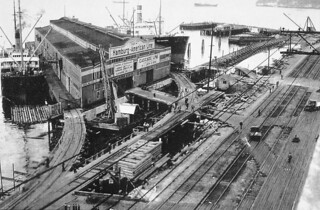 Railroad Avenue and Pier 14 (now Pier 70), 1934