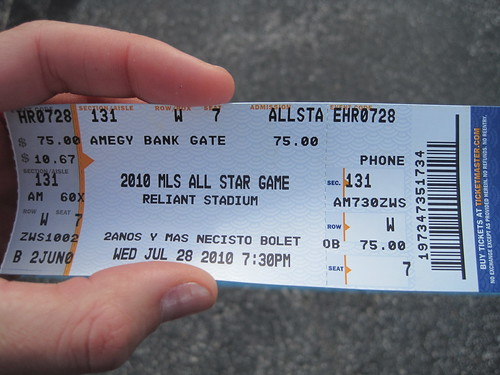 MLS ALL STAR GAME TICKETS
