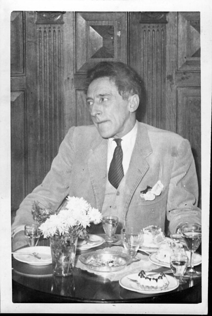 1946 October 28 - De Groot, Amsterdam - Jean Cocteau at Tuschinski for Belle & la Bete premiere
