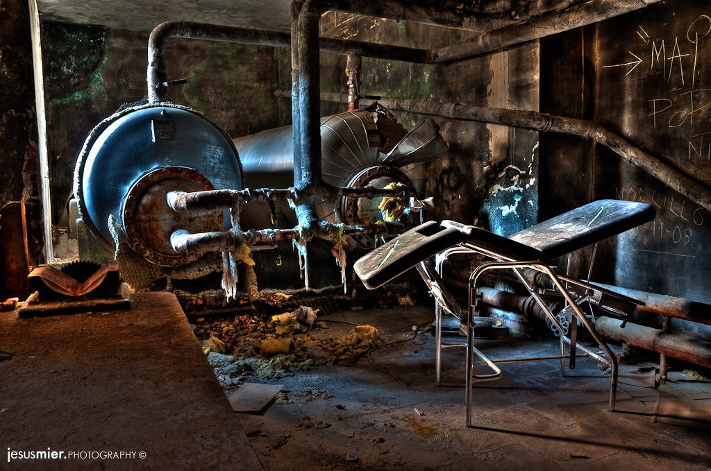 Abandoned Stretcher HDR